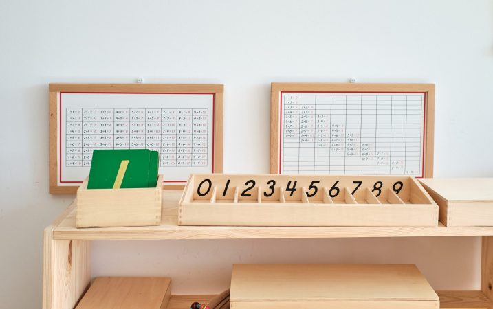 didactic materials for learning mathematics from a montessori school